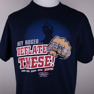 New England Patriots Shirt XL Deflate These